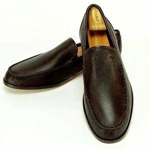 Authentic NEW  COACH  Men's Leather Slip On Shoes.